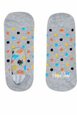 Happy Socks Dot Liner Sock in kleur grijs