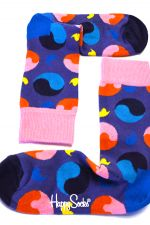 Happy Socks Yin Yang Sock in kleur paars